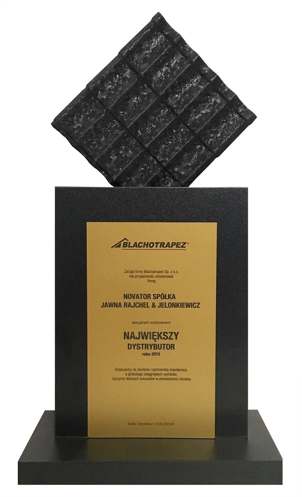 Blachotrapez Największy Dystrybutor 2015
