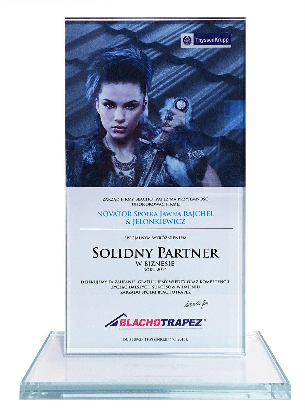 Blachotrapez Solidny Partner