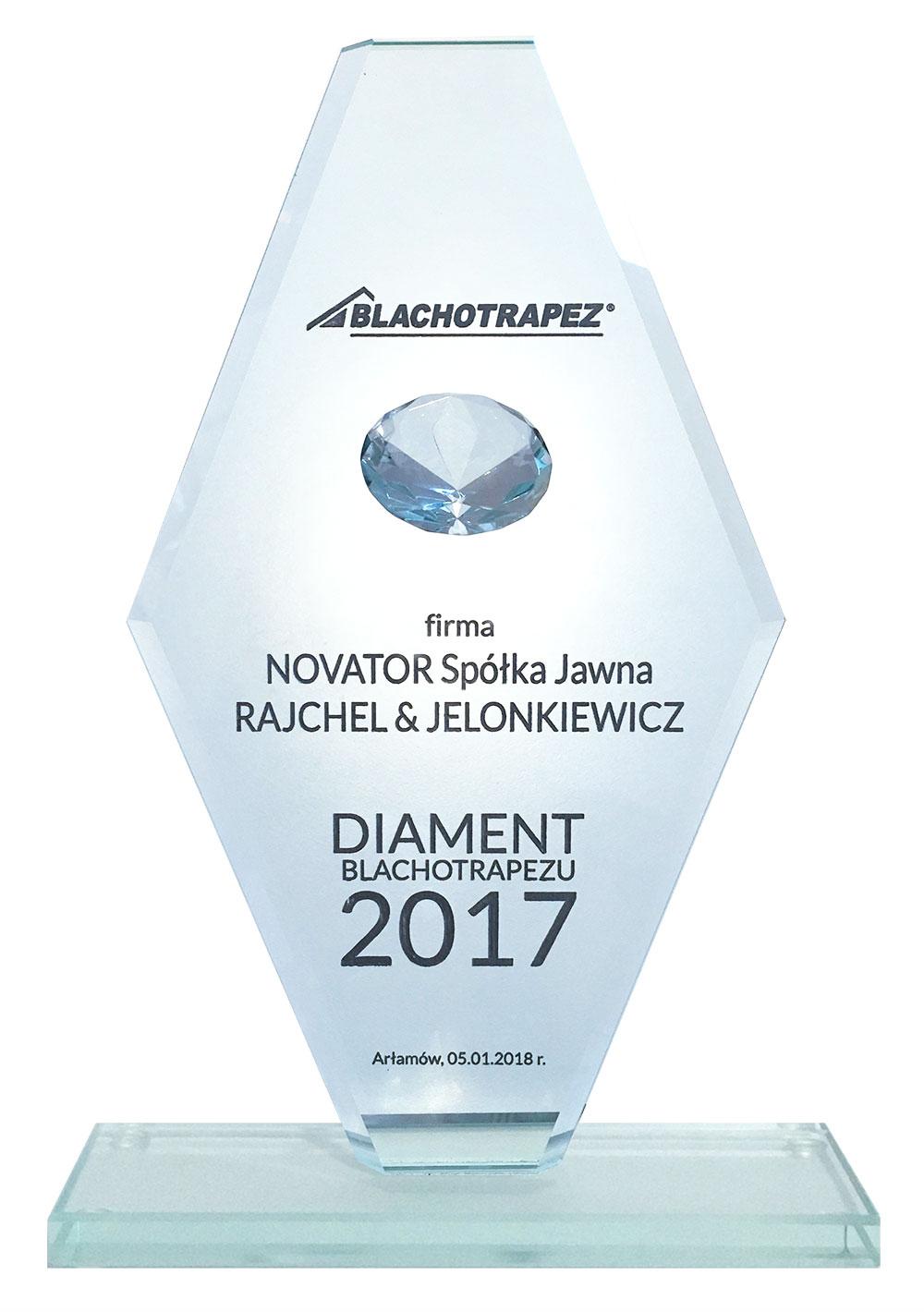 Diament Blachotrapezu 2017