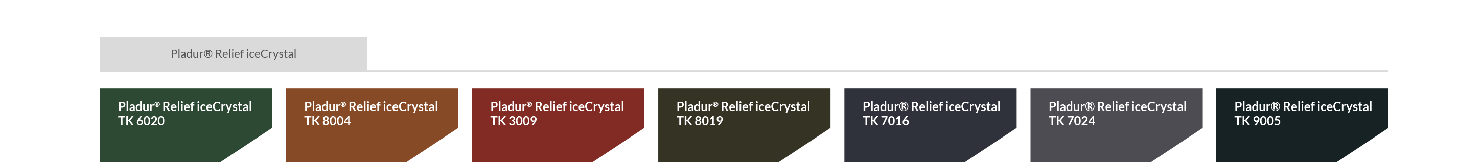 Pladur Relief Ice Crystal