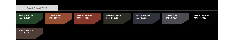 Pladur Wrinkle MAT TK