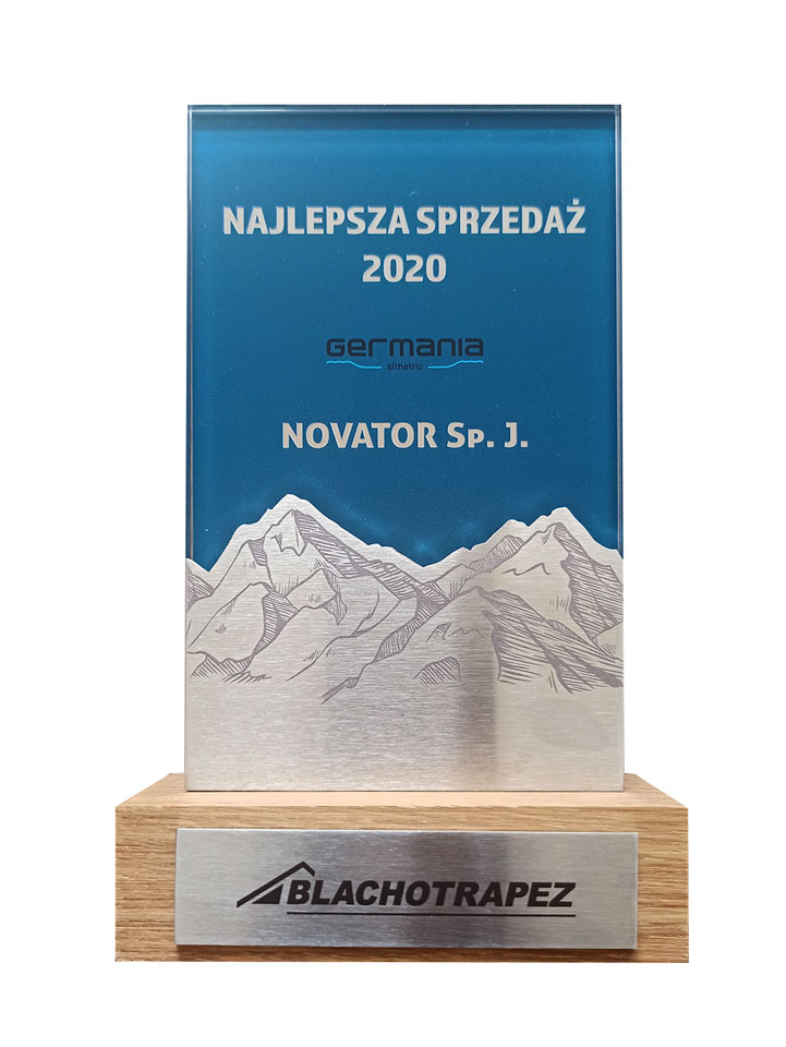 Blachotrapez Największa Sprzedaż blachodachówki Germania Simetric